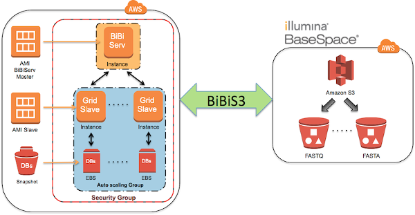 BiBiCloud AWS workflow